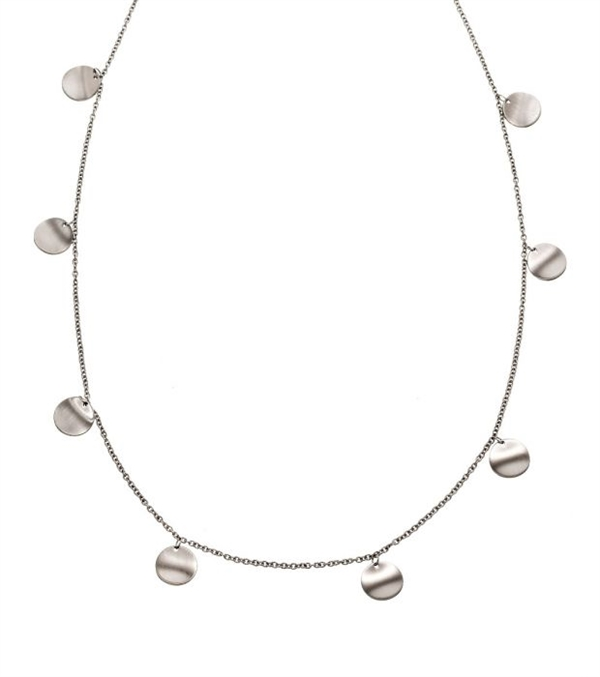 Concave necklace multi matt steel 7d780c922df33